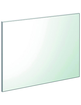 Xcite 800 x 600mm Aluminium Edged Mirror