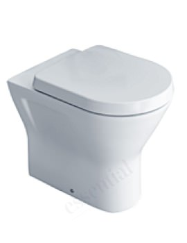 IVY Comfort Height Back To Wall Pan With Soft Close Seat