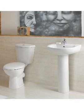 Milan Washroom 4 Piece Suite