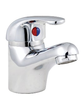 Aqva Barra Basin Mixer Chrome Tap Without Waste
