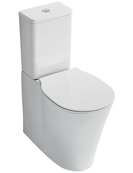 Concept Air Aquablade Close Coupled Back-To-Wall WC Pan 665mm