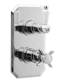Nobel Twin Thermostatic Shower Valve