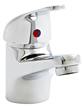 Java Mono Basin Mixer Tap With Click Waste