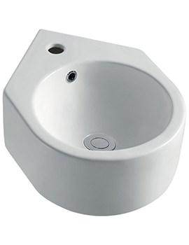 Pura Arco 330mm Cloakroom Basin - LH1010