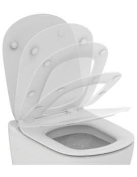 Tesi Slim Slow Close WC Toilet Seat