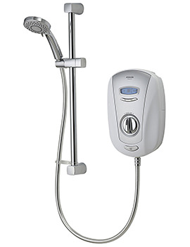 Vitalise SLX White And Chrome Electric Shower 8.5kW