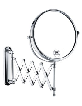 Bristan Extending Shaving Mirror - COMP EXTMR C