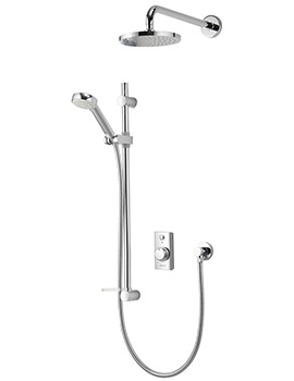 Aqualisa Visage Digital Divert Hand Shower And Wall Drencher - HP Combi
