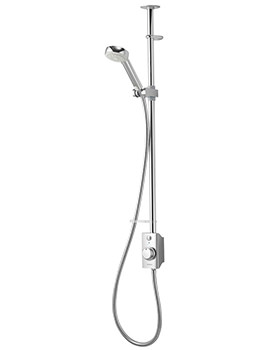 Visage Exposed Digital Shower Slide Rail Kit - HP Combi