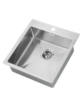 1810 Company Zenuno 400 I-F 15R 1.0 Bowl Kitchen Sink