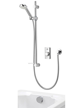 Aqualisa Visage Concealed Digital Divert Shower And Bath Fill - HP Combi