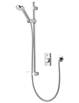 Visage Concealed Digital Shower Slide Rail Kit - HP Combi
