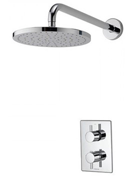 Dream DCV Concealed Thermostatic Shower Valve With Wall Fixed Head