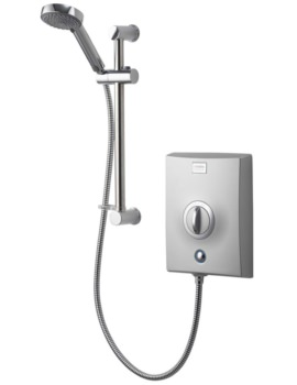 Quartz Chrome Electric Shower 9.5kW