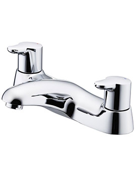 Elements Dual Lever Control 2 Hole Bath Filler Tap