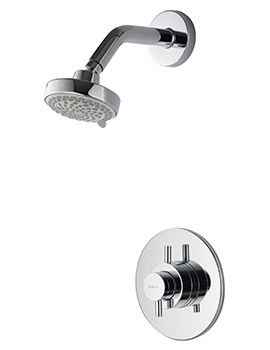 Aspire DL Concealed Thermostatic Shower Mixer With Fixed Head