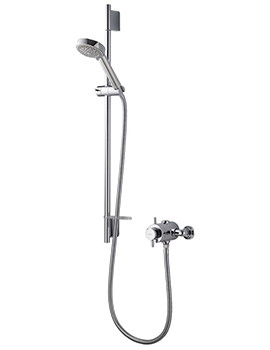 Aspire DL Exposed Thermostatic Shower Mixer Valve With Kit
