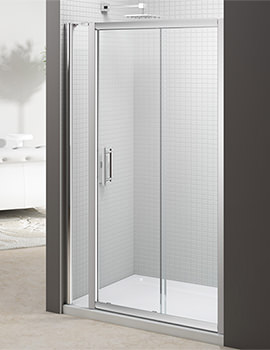 6 Series 1100mm Sliding Door And 140mm Inline Panel