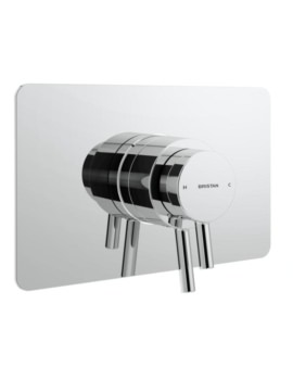 Bristan Prism Concealed Concentric Chrome Shower Valve