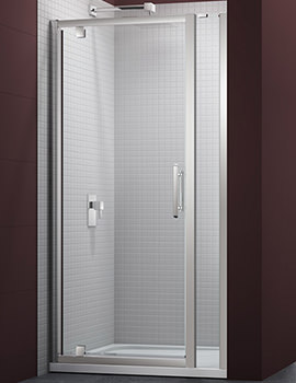 6 Series 900mm Pivot Door And 140mm Inline Panel