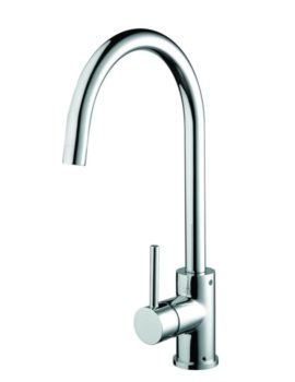 Bristan Pistachio Easyfit Kitchen Sink Mixer Tap Brushed Nickel