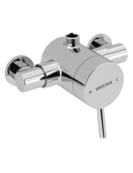 Prism Thermostatic Exposed Top Outlet Single Control Shower Valve