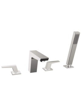 Bristan Sail 4 Hole Deck Mounted Bath Shower Mixer Tap