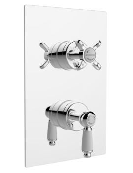 Renaissance Recessed Thermostatic Dual Control Shower Valve