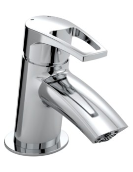 Smile Deck Mounted Small Basin Mixer Tap