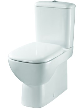 Moda Flushwise Close Coupled Back-To-Wall WC 640mm And Cistern