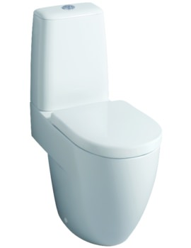 Twyford 3D 680mm With Cistern And Standard Seat