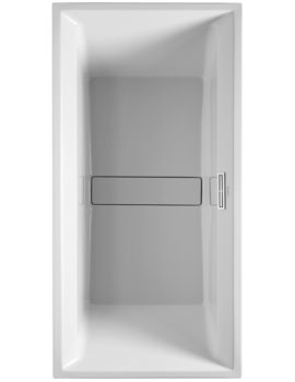 Duravit 2nd Floor 2000 x 1000mm Rectangular Bath With Support Frame
