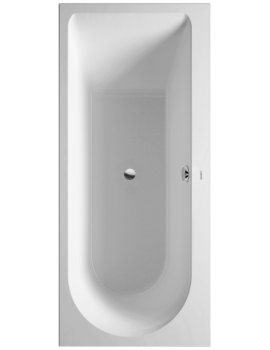 Duravit Darling New 1700x750mm Bath With Right Slope And Support Frame