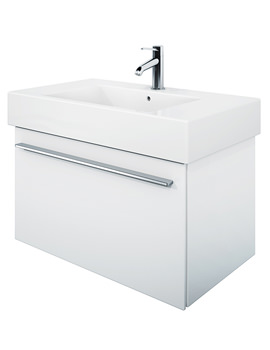 X-Large 800mm Vanity Unit With 850mm Vero Washbasin