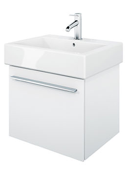 X-Large 450mm Vanity Unit With 500mm Vero Washbasin