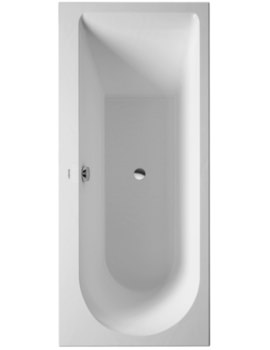Duravit Darling New 1600 x 700mm Bath With One Backrest Slope Left