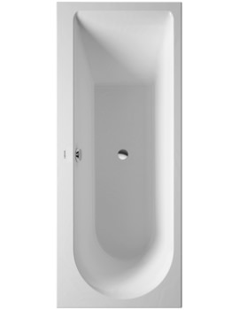 Darling New 1700 x 700mm Bath With One Backrest Slope Left