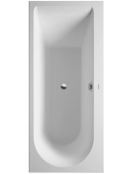 Darling New 1600 x 700mm Bath With One Backrest Slope Right