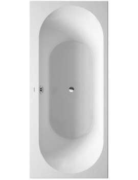 Duravit Darling New 1800 x 800mm Bath With Support Frame