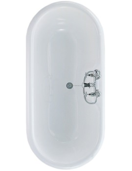 Idealcast Roll Top Bath 1700 x 800mm - E403001