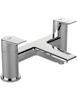 Tesi Dual Control Deck Mounted Bath Filler Tap