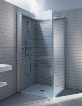 OpenSpace 985 x 885mm Rectangular Shower Screen - 770005