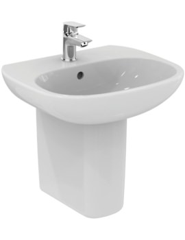 Tesi 500mm 1 Tap Hole Washbasin