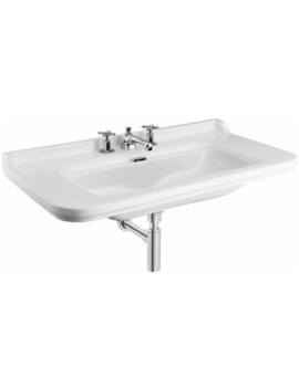 Waldorf 1000mm 3 Tap Hole Wall Hung Basin