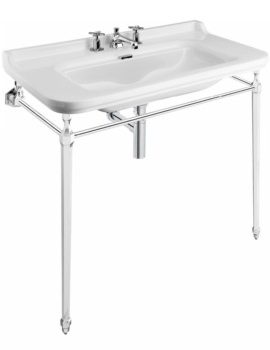 Waldorf 1000mm 3 Tap Hole Basin And Console