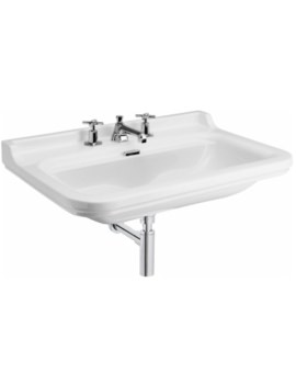 Waldorf 800mm 3 Tap Hole Wall Hung Basin