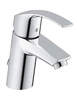 Eurosmart Half Inch Basin Mixer Tap With Retractable Chain