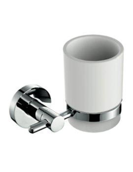 Ariana Round Wall Mounted Tumbler Holder And Cup