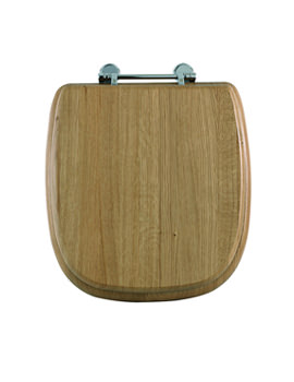 Radcliffe Toilet Seat With Standard Hinge And Lift Handle