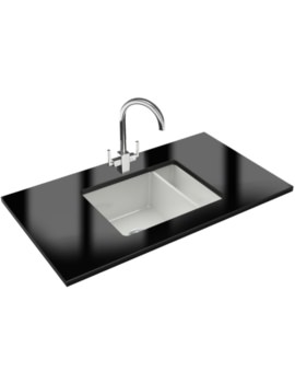 Kubus Designer Pack KBK 160 Ceramic Kitchen Sink And Tap